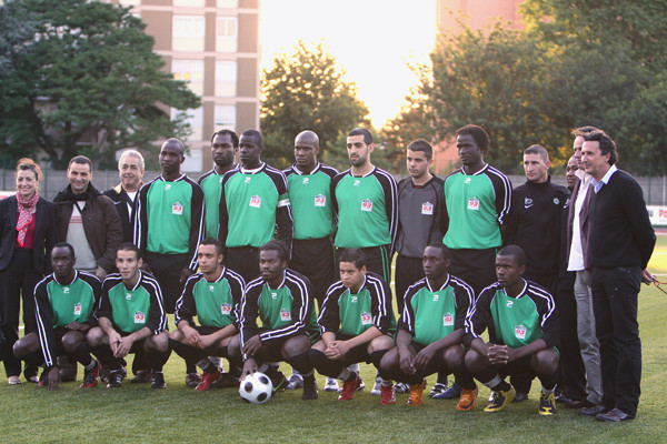 Red Star FC 93 (D2, District), finaliste de la Coupe de la Seine-Saint-Denis 2009 (photo Jacques Martin)