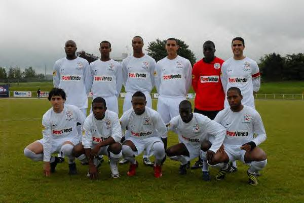 Le Red Star finaliste en 2009  de la Coupe de Paris � John Hanson