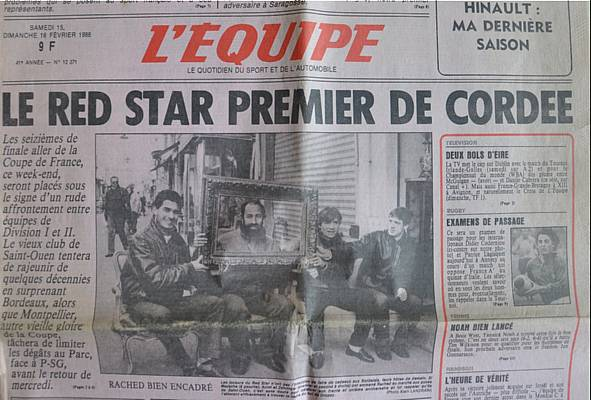 Red Star - Bordeaux, 1986