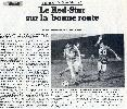 RED STAR - GRENOBLE : 1-0